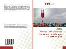 Capa do livro de Pompes à efflux comme mécanisme de résistance aux antibiotiques