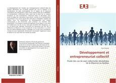 Couverture de Développement et entrepreneuriat collectif