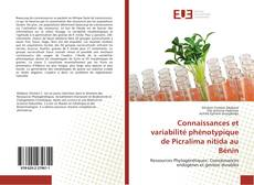 Couverture de Connaissances et variabilité phénotypique de Picralima nitida au Bénin