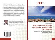 Couverture de Analyse des enjeux de la stratégie de gestion de la biodiversité
