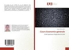 Bookcover of Cours Economie générale