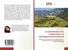 La Contribution des coopératives au développement territorial kitap kapağı