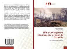 Bookcover of Effet du changement climatique sur la région de Kroumirie