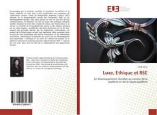 Обложка Luxe, Ethique et RSE