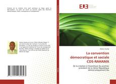 La convention démocratique et sociale CDS-RAHAMA kitap kapağı