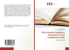 Copertina di The k-nearest neighbors estimation of the conditional mode