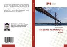 Portada del libro de Résistance Des Matériaux, cours