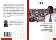 Bookcover of Guillaume Soro, L'Invincible