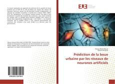 Capa do livro de Prédiction de la boue urbaine par les réseaux de neurones artificiels