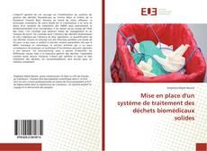 Copertina di Mise en place d'un système de traitement des déchets biomédicaux solides
