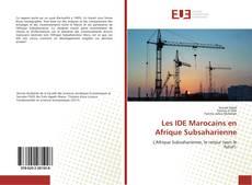 Bookcover of Les IDE Marocains en Afrique Subsaharienne