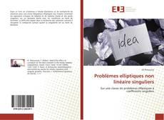 Couverture de Problèmes elliptiques non linéaire singuliers