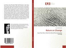 Copertina di Return or Change