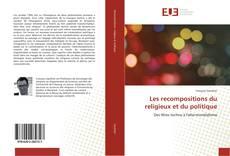 Capa do livro de Les recompositions du religieux et du politique