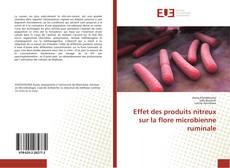 Обложка Effet des produits nitreux sur la flore microbienne ruminale