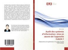 Bookcover of Audit des systèmes d'information: mise en œuvre de l'approche Cobit4.1