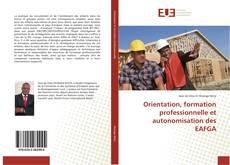 Bookcover of Orientation, formation professionnelle et autonomisation des EAFGA