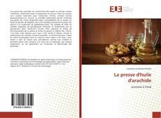 Capa do livro de La presse d'huile d'arachide