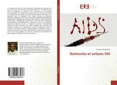 Couverture de Recherche et actions VIH