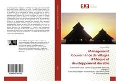 Portada del libro de Management Gouvernance de villages d'Afrique et développement durable