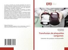 Bookcover of Transfusion de plaquettes sanguines