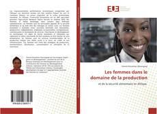 Capa do livro de Les femmes dans le domaine de la production