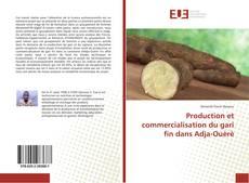 Capa do livro de Production et commercialisation du gari fin dans Adja-Ouèrè
