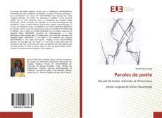 Borítókép a  Paroles de poète - hoz