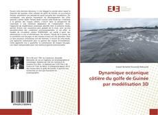 Portada del libro de Dynamique océanique côtière du golfe de Guinée par modélisation 3D