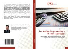 Buchcover von Les modes de gouvernance et leurs incidences