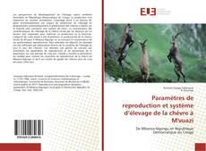 Couverture de Paramètres de reproduction et système d'élevage de la chèvre à M'vuazi