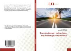 Comportement mécanique des mélanges bitumineux kitap kapağı