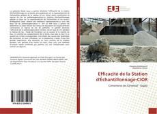 Efficacité de la Station d'Échantillonnage-CIOR kitap kapağı