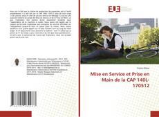 Mise en Service et Prise en Main de la CAP 140L-170512 kitap kapağı