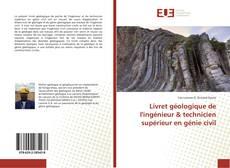 Обложка Livret géologique de l'ingénieur & technicien supérieur en génie civil