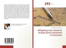 Copertina di Mitigating risks related to foreign direct investment in Cameroon