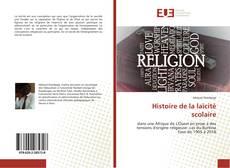 Histoire de la laïcité scolaire kitap kapağı