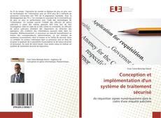 Buchcover von Conception et implémentation d'un système de traitement sécurisé
