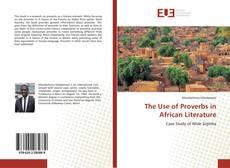 Capa do livro de The Use of Proverbs in African Literature