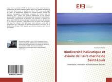 Couverture de Biodiversité halieutique et aviaire de l'aire marine de Saint-Louis