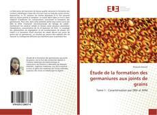 Bookcover of Étude de la formation des germaniures aux joints de grains