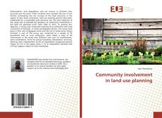 Copertina di Community involvement in land use planning