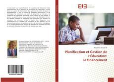 Bookcover of Planification et Gestion de l'Éducation: le financement
