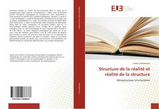 Bookcover of Structure de la réalité et réalité de la structure