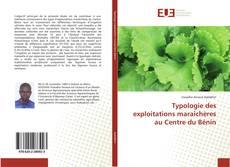 Capa do livro de Typologie des exploitations maraîchères au Centre du Bénin