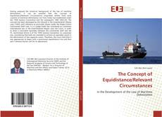 Couverture de The Concept of Equidistance/Relevant Circumstances