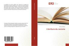 Bookcover of L'écriture du racisme