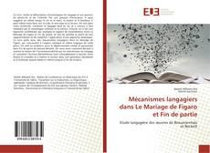 Couverture de Mécanismes langagiers dans Le Mariage de Figaro et Fin de partie