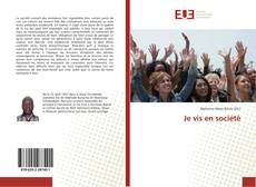 Bookcover of Je vis en société