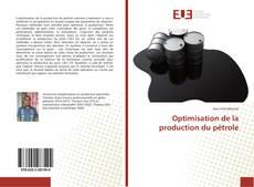 Copertina di Optimisation de la production du pétrole